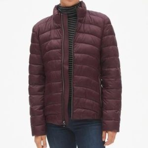 GAP ColdControl Lightweight Jacket; Burgundy; Sz M